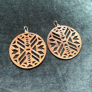 3/$35- Aztec Earrings